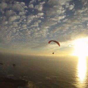 Big Sur paragliding