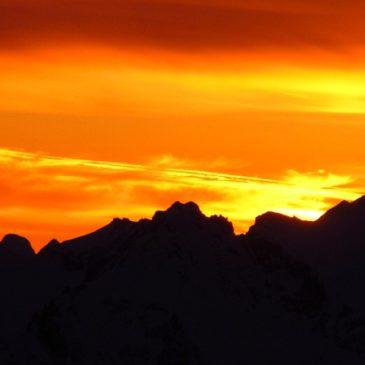 С вершины Эльбруса