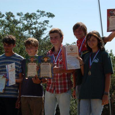 Первенство России среди подростков и юношей по СЛА планерному спорту 2010